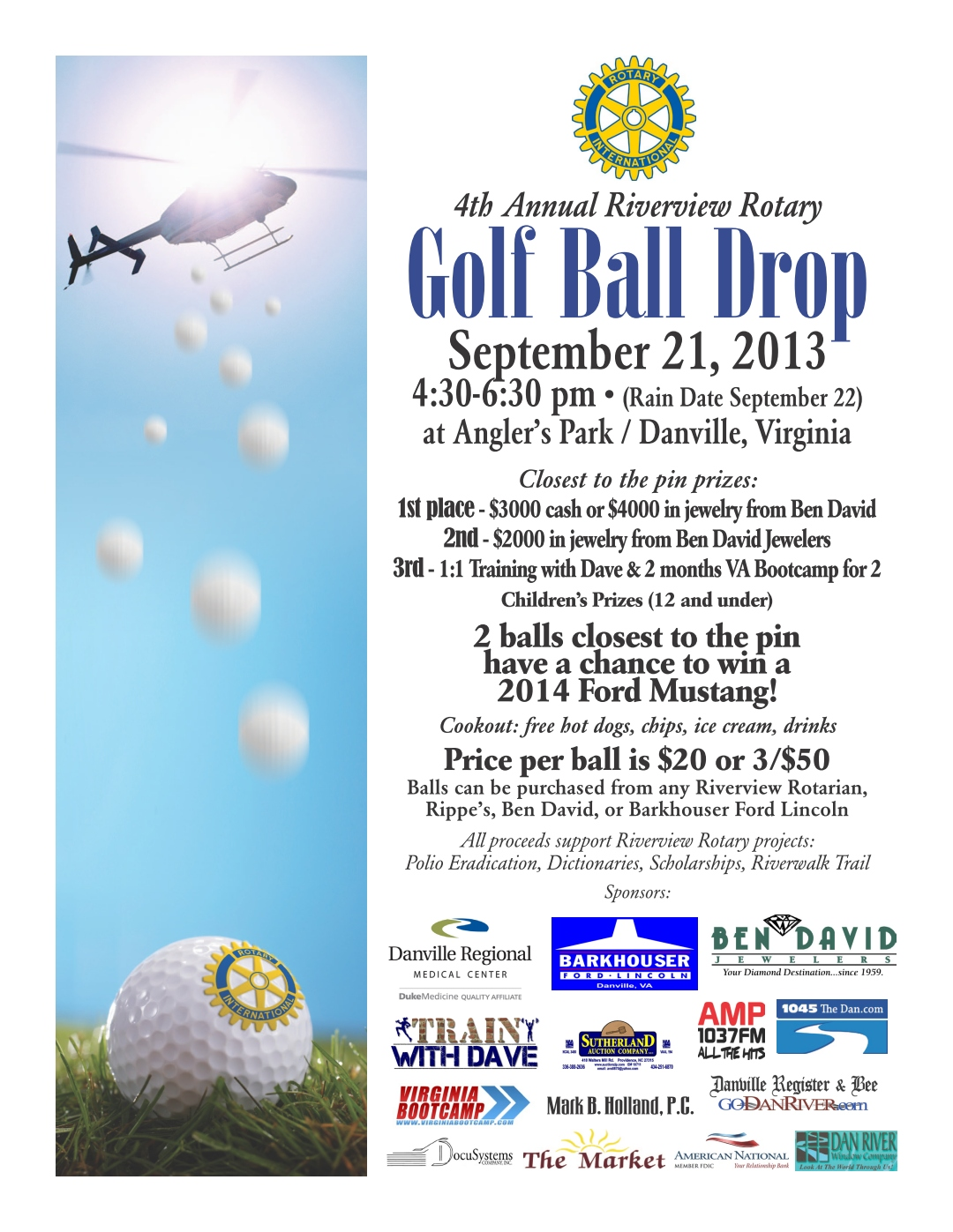 2013 Golf Ball Drop